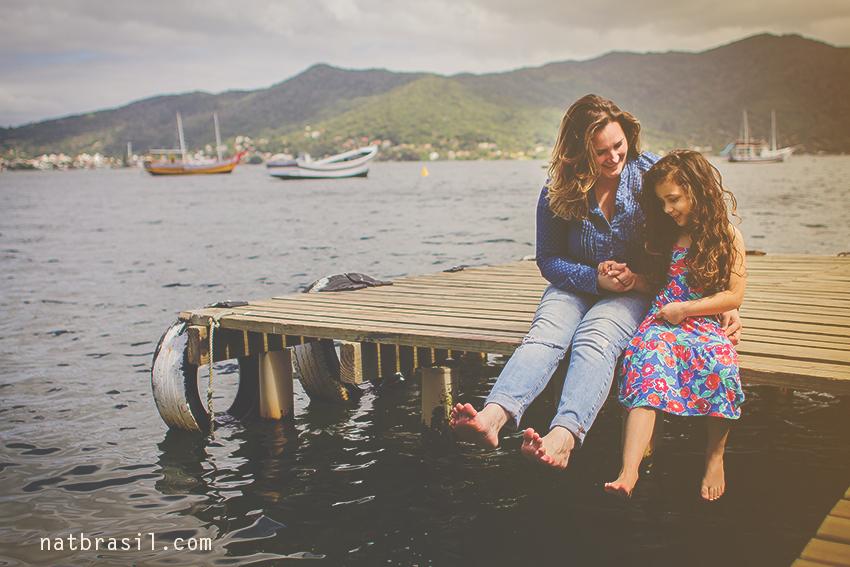 fotografia ensaio família mãeefilha florianópolis natbrasil