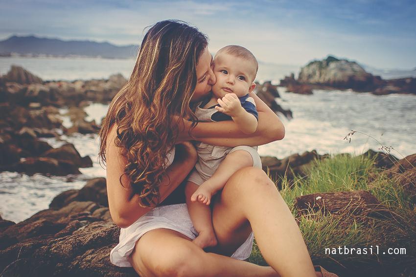 fotografia familia infantil maeefilho 8meses florianopolis natbrasil